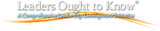 Leaders Ought To Know logo